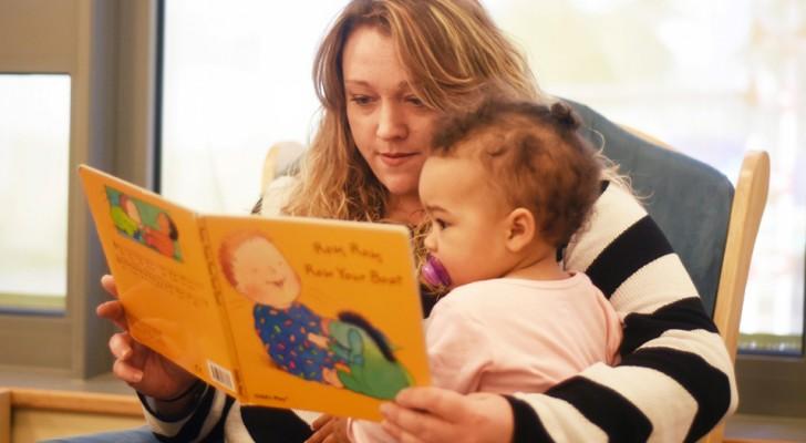 Leggere le fiabe ai bambini migliora la loro capacità di esprimersi e di gestire le relazioni sociali