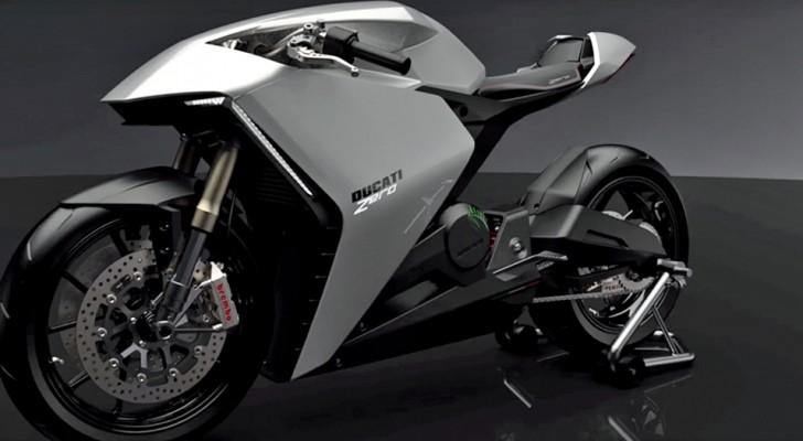 La Ducati punta verso il progresso: presto su strada una futuristica motocicletta elettrica