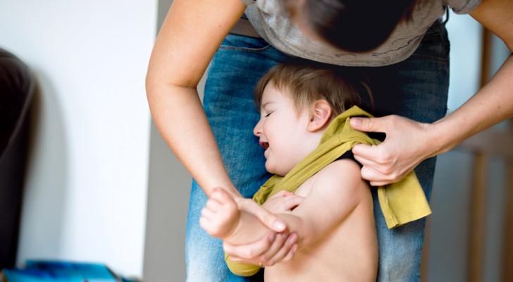 Barn är mindre disciplinerade med sina mammor än med andra människor