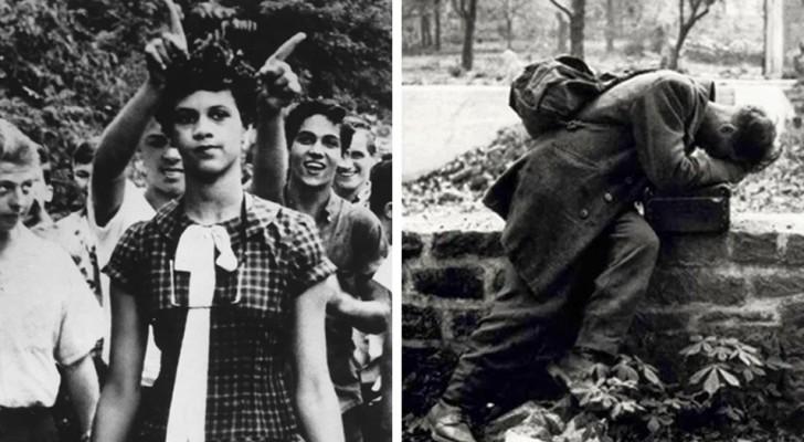10 historische foto's die stof tot nadenken geven