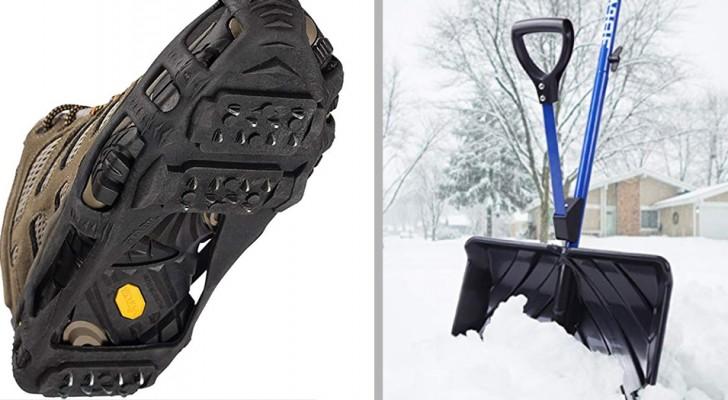 20 gadget ingegnosi per affrontare la neve e il gelo senza paura e soprattutto senza fatica
