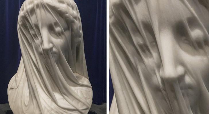 La Vergine Velata: l'opera in cui il marmo acquisisce una straordinaria leggerezza, realizzata da uno scultore italiano