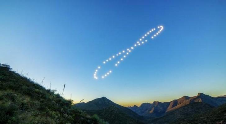 De beweging van de zon aan de hemel gevangen in een uniek spectaculair beeld