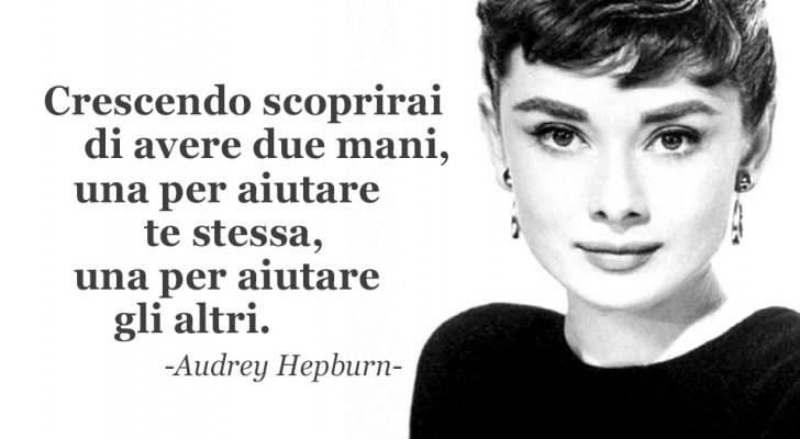20 frasi di Audrey Hepburn da cui ogni donna dovrebbe prendere ispirazione