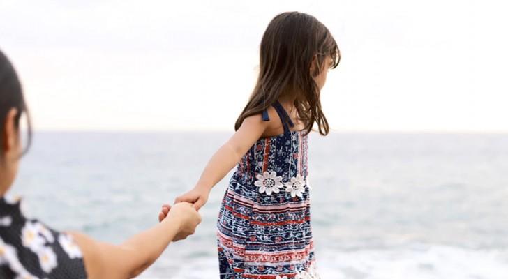 A te che vedi la tua bambina crescere, e non ti senti pronta a lasciarla andare