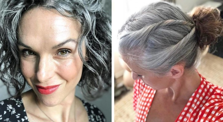 These women have decided not to dye their hair anymore; their beautiful photos could perhaps convince you to do the same