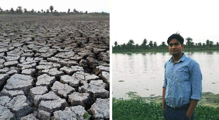 Ce jeune de 26 ans redonne vie aux lacs de l'Inde qui ont été asséchés et transformés en décharges