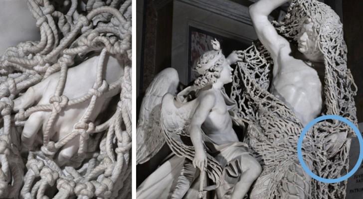 La meravigliosa scultura italiana così intricata da far dubitare sia fatta di marmo