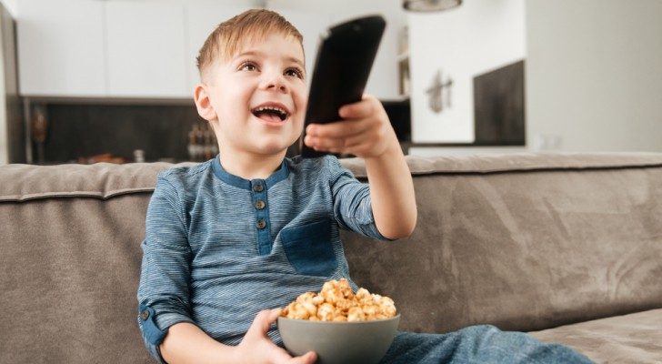 Porque los niños miran el mismo film centenares de veces?