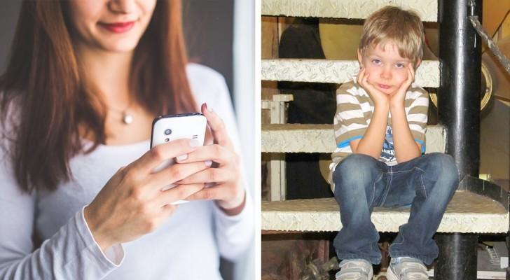 La tua dipendenza dal cellulare sta facendo male a tuo figlio