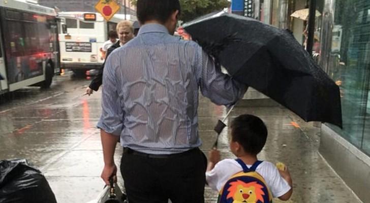Cosa significa essere padre: questa foto lo dimostra meglio di mille parole