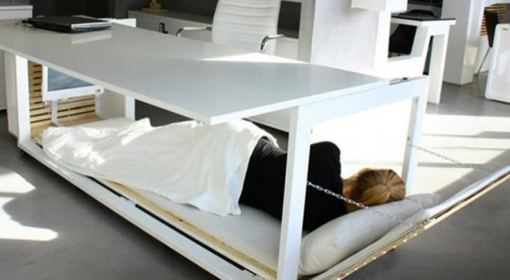 Ce bureau avec lit intégré est tout ce dont vous avez besoin pour être plus productif au travail