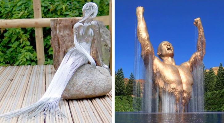 18 sculptures originales qui réussissent à stimuler l'imagination de ceux qui les observent