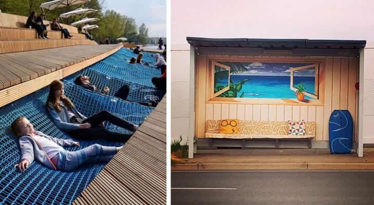 19 esempi di design urbano che vorremmo vedere in ogni città