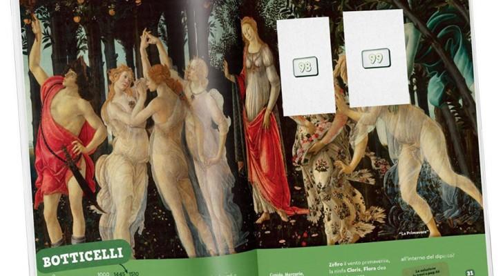 Arriva il primo album di figurine dedicato alle opere d'arte