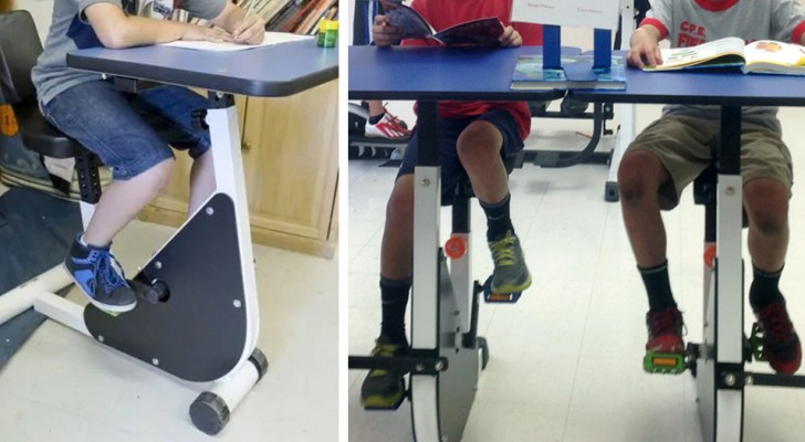 Arriva in Italia la bici-banco per i bambini iperattivi, inventata da un pedagogista canadese