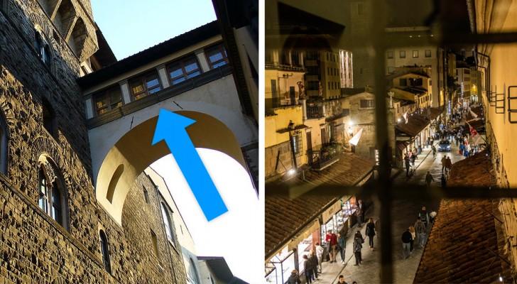 A Firenze riapre il Corridoio Vasariano: il passaggio segreto che univa Palazzo Pitti, gli Uffizi e Palazzo Vecchio