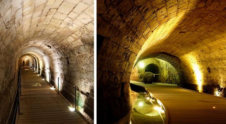 Ce tunnel de l'Ordre du Temple est resté caché pendant 700 ans