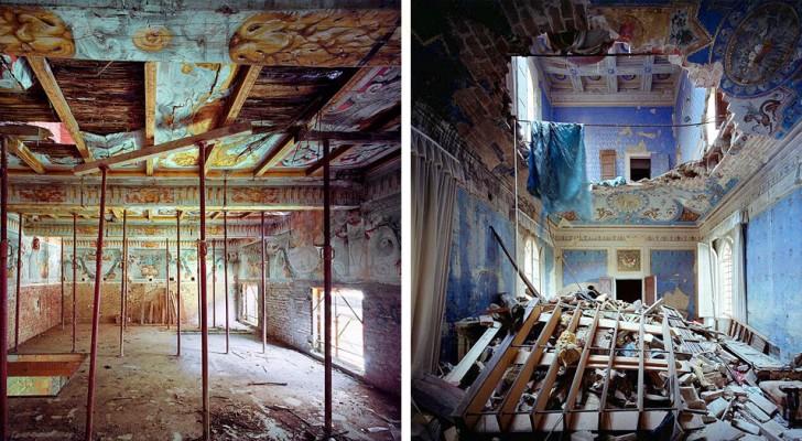 Un fotografo è entrato nei palazzi rinascimentali italiani abbandonati e ha ritratto tutta la loro bellezza