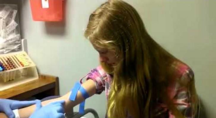 Anche voi durante le analisi del sangue reagite in questo modo?