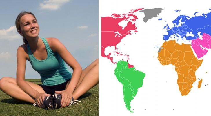 Questa è la classifica delle nazioni con la popolazione più sana al mondo, e non mancano le sorprese