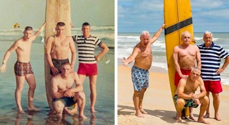25 fois où les personnes ont recréé de vieilles photos à la sauce actuelle... avec des résultats hilarants