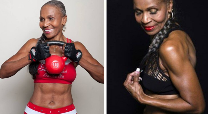 She is the oldest bodybuilder in the world: She is 80 years old, but don't call her grandmother