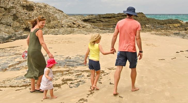 El mejor consejo de dar a los padres? Elige siempre de transcurrir las vacaciones con toda tu familia.