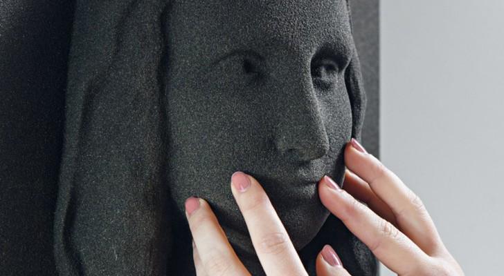 Questi dipinti stampati in 3D permettono alle persone cieche di