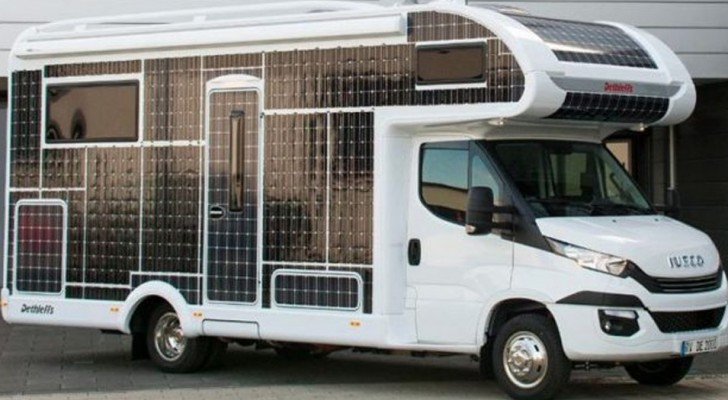 De nieuwe Iveco-camper reist zonder brandstof en biedt een ongeëvenaarde rijervaring