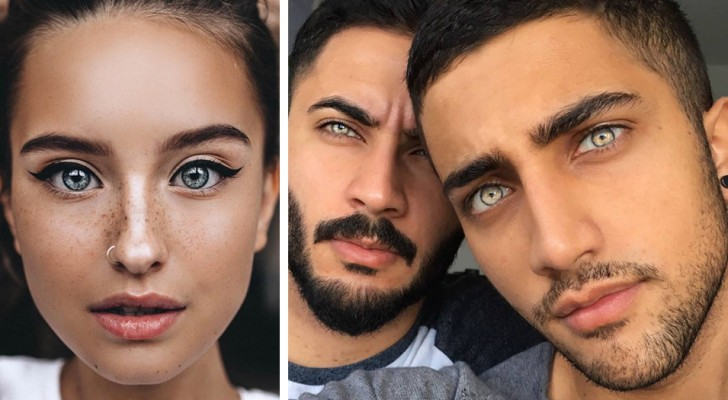19 people to whom Mother Nature has given an incredibly magnetic gaze