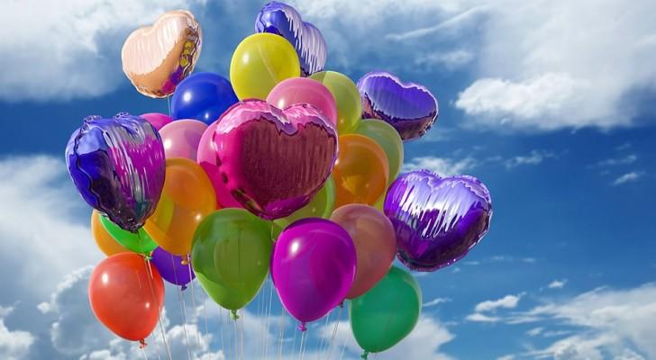 Il est temps de dire STOP aux ballons en plastique : les lâcher dans le ciel, c'est un acte contre la nature !