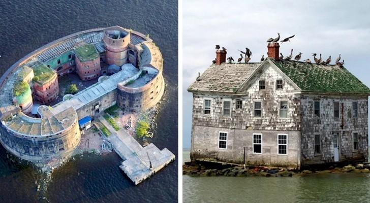 14 faszinierende verlassene Gebäude, die die Natur für sich beansprucht hat