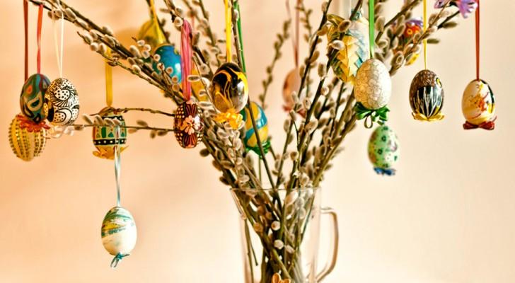 A árvore de Páscoa, uma linda tradição nórdica que você não vai ver a hora de levar para a sua casa