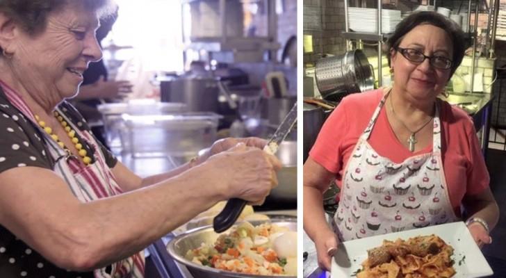 Questo ristorante ha sostituito gli chef con un gruppo di nonne, e il risultato è straordinario