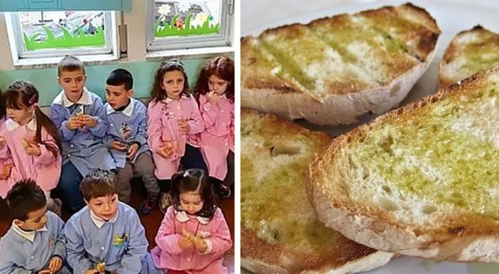Pane e olio al posto delle merendine: l'iniziativa delle scuole del Cilento ha un successo strepitoso