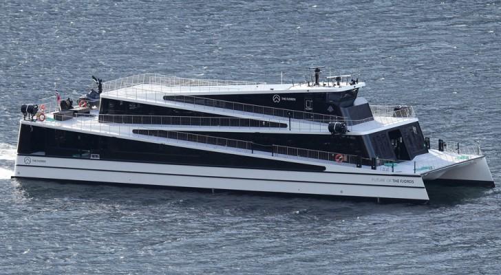 La Norvegia ha iniziato a convertire l'intera flotta navale all'elettrico e terminerà entro il 2030