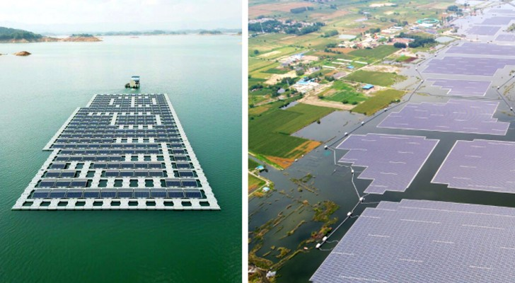 La Chine a construit le plus grand système photovoltaïque flottant au monde : voici tous ses avantages