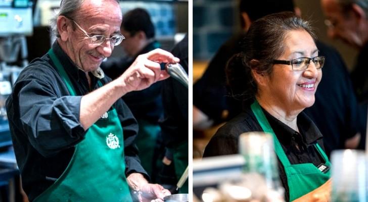 Esta famosa cafetería contrata en su staff solo personas ancianas: un bellísimo ejemplo de inclusión!