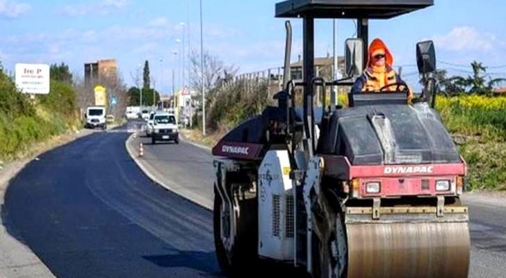 Addio alle buche in strada? Con il primo asfalto italiano al grafene e plastica riciclata ora è possibile