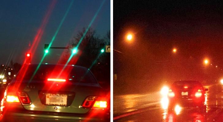 Queste due foto a confronto rivelano se abbiamo l'astigmatismo o meno, e stanno già facendo il giro del web