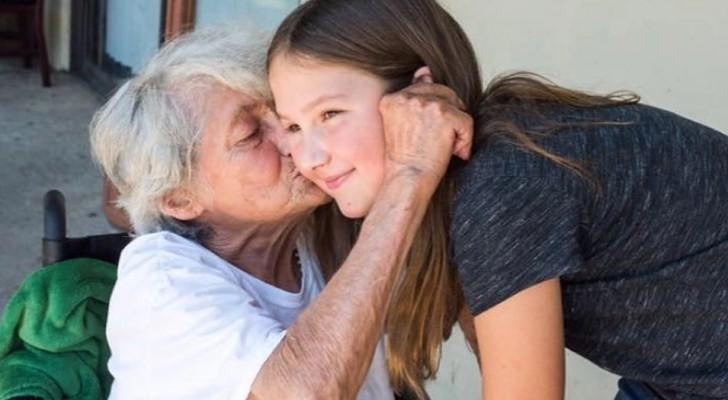 Une fillette de 11 ans visite une maison de retraite et avec une question elle réussit à rendre tous les pensionnaires heureux