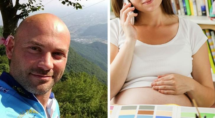 Comunica al titolare di essere incinta, lui le rinnova il contratto e le dà una promozione