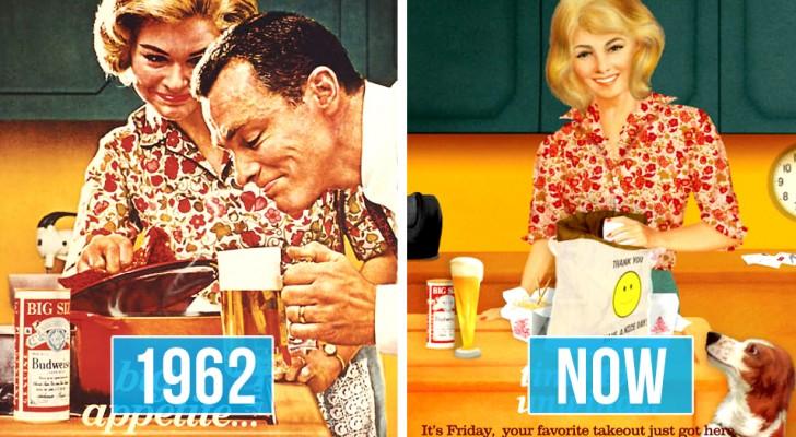 La Budweiser ha trasformato le pubblicità degli anni '50 in manifesti moderni per celebrare di diritti della donna