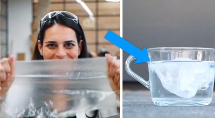 Eine Wissenschaftlerin hat einen Kunststoff erfunden, der sich im Wasser auflöst und unsere Meere retten könnte