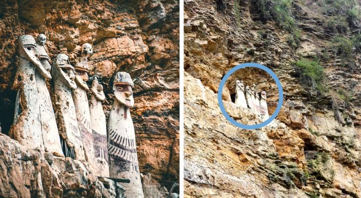 Die Sarkophage von Karajia in Peru: Das sind die alten Mausoleen, die sich auf einer Rekordhöhe von 2000 Metern befinden