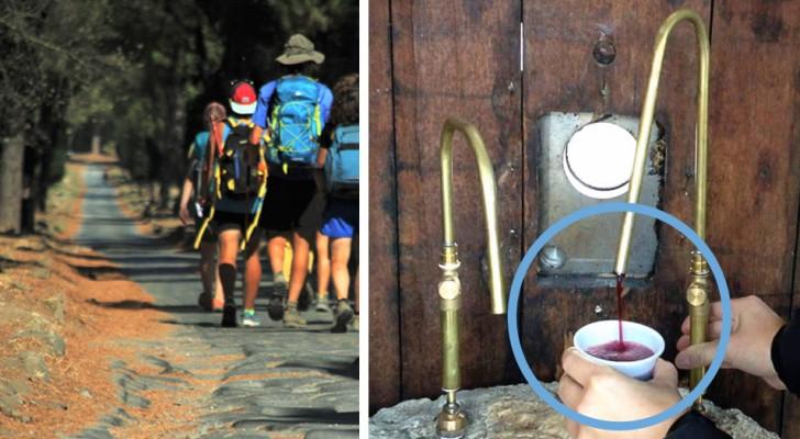 Ein Brunnen, der 24h am Tag gratis Wein spendet? In diesem italienischen Dörfchen ist es Realität!