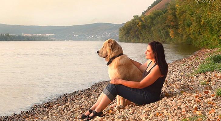 Tierfreunde sind in perfekter Harmonie mit der Welt