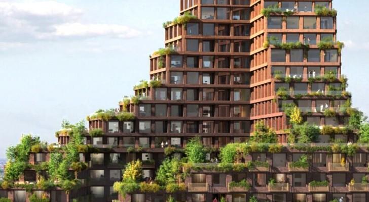 Sorgerà a Copenaghen il primo grattacielo eco-sostenibile: ecco il progetto e tutti i suoi vantaggi