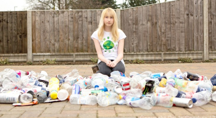 A 13-year-old girl is teased because she collects litter in her city and now she has gained worldwide attention